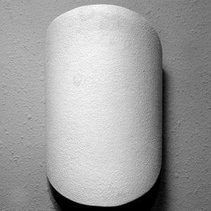 124 Forma de escudo cortado a mano