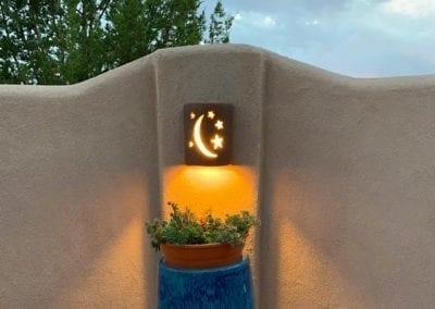 Garden Star & Moon Design