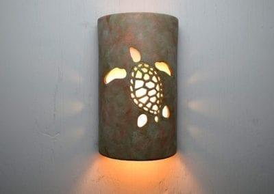 "14"" OT Ocean Turtle (Left Faced) in Oak Moss-Exterior 116 366 682 907"